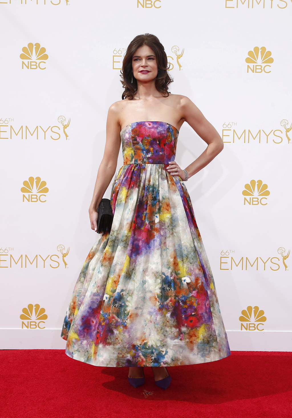 Betsy Brandt arrives at the 66th Primetime Emmy Awards in Los Angeles
