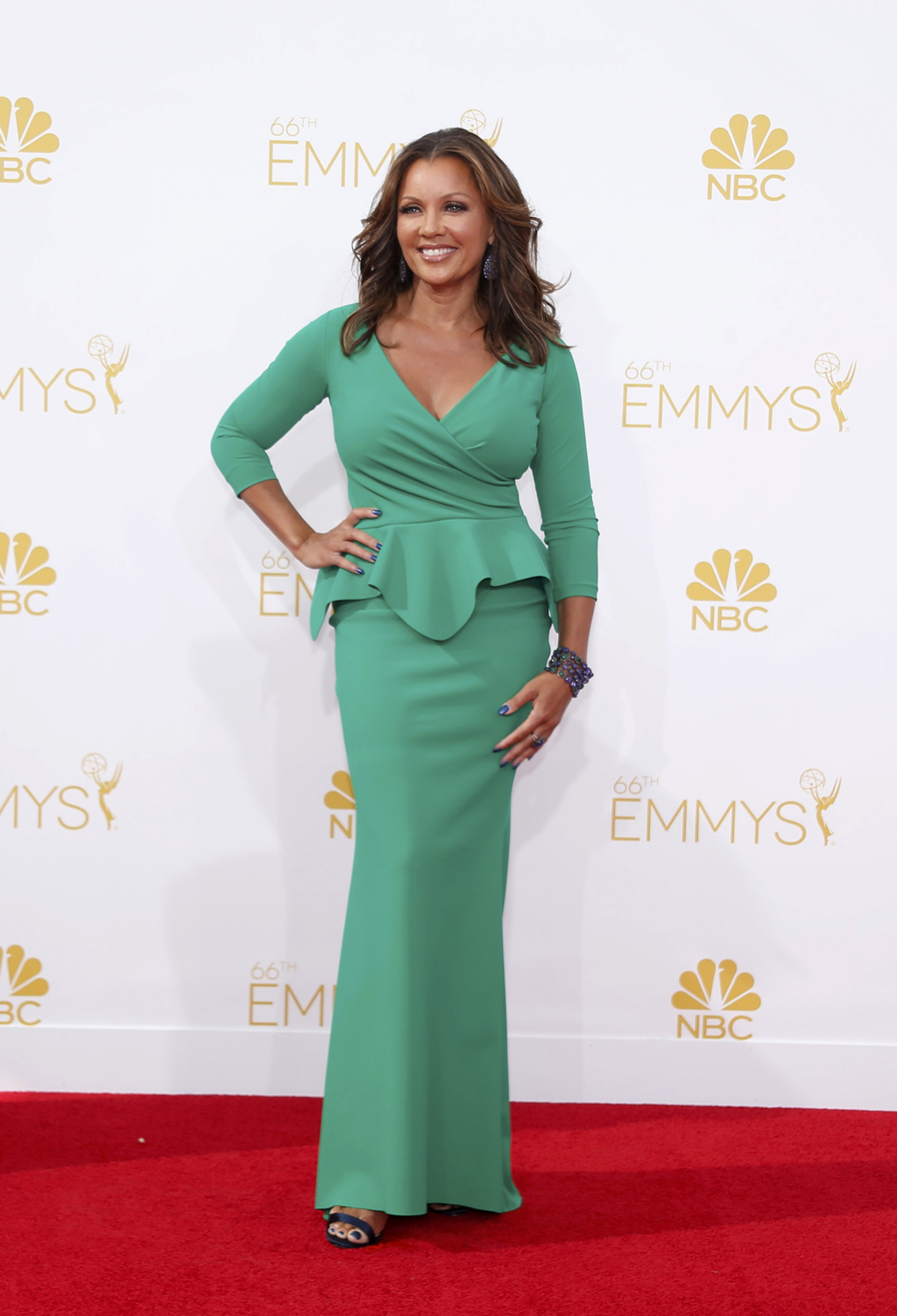 Vanessa Williams arrives at the 66th Primetime Emmy Awards in Los Angeles